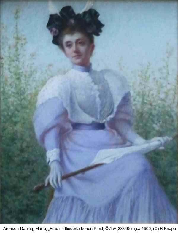 Aronsen-Danzig-Marta-Frau-im-fliederfarbenen-Kleid-Oel-auf-Lw.-33x40cm-ca-1900