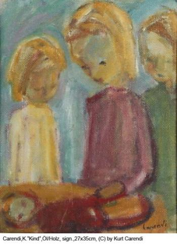 Carendi.-Curt-Kind-Oel-auf-Holz-unterzeichnet-35-x-27-cm