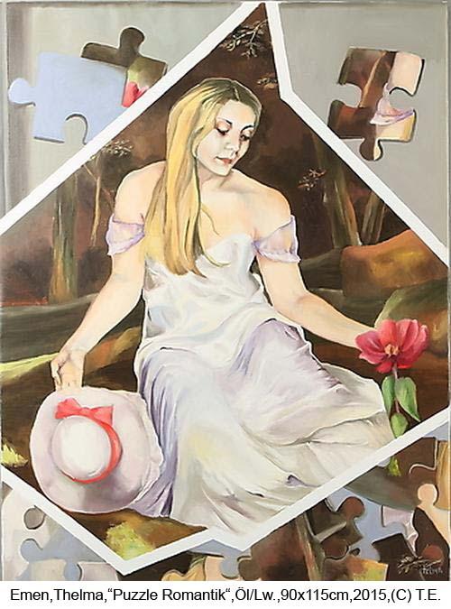 Emen-Thelma-Puzzle-Romantik-Oel-auf-Lw