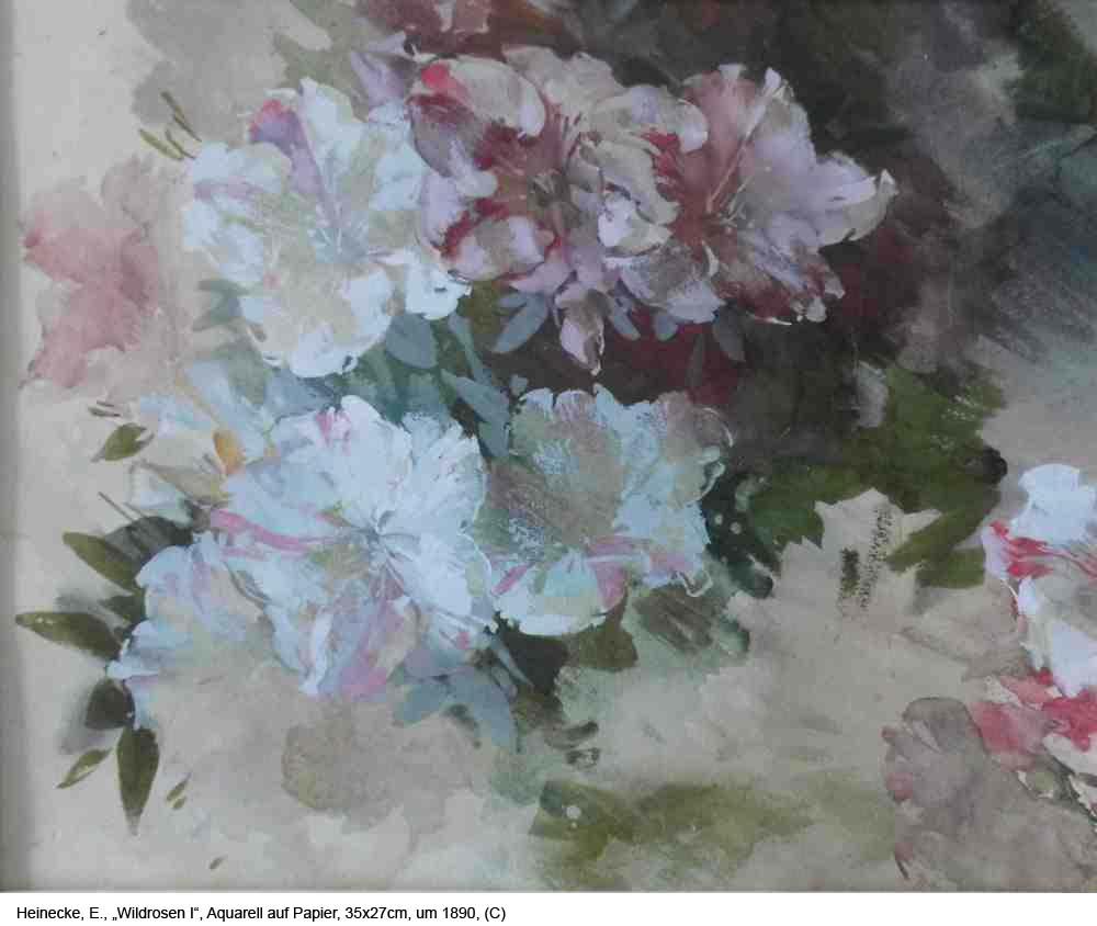 Heinecke-E.-Wildrosen-I-Aquarell-auf-Papier-35x27cm-um-1890