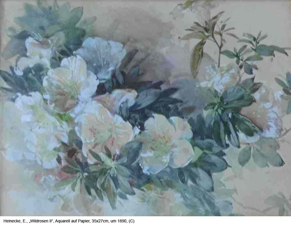 Heinecke-E.-Wildrosen-II-Aquarell-auf-Papier-35x27cm-um-1890-1