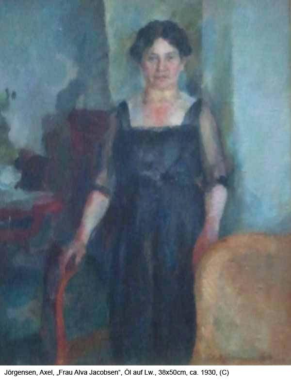 Joergensen-Axel-Frau-Alva-Jacobsen-Oel-auf-Lw.-38x50cm-1893-1957-ca.-1930