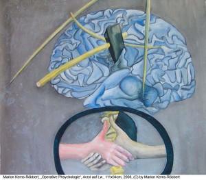 Kerns-Roebbert-Marion-Operative-Phychologie-Acryl-auf-Lw.-111x94cm-2008