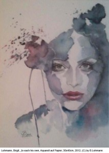 Lehmann-Birgit-to-each-his-own-Aquarell-30x40cm-2012