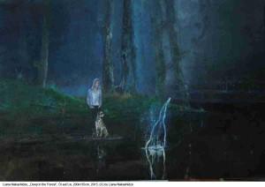 Nakashidze-Liana-Deep-in-the-Forest-oel-auf-Lw.-200x135cm-2015