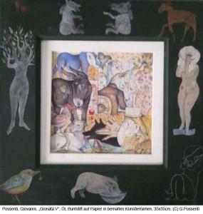 Possenti-Giovanni-Gionata-V-Oel-Buntstift-auf-Papier-20x20cm-2013