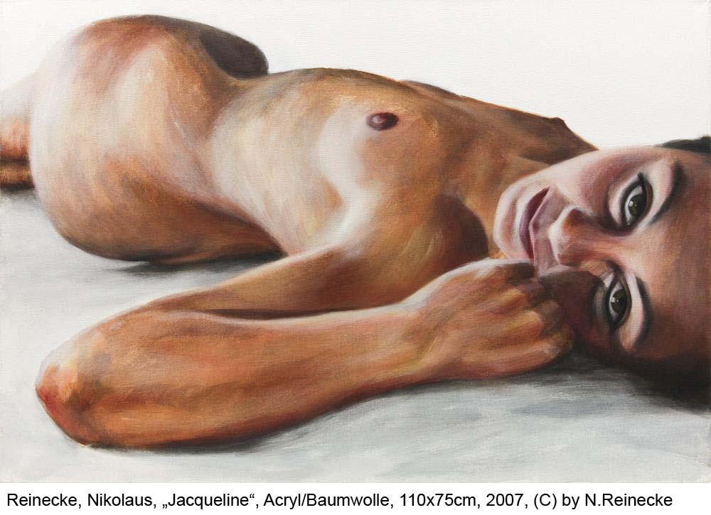 Reinecke-Nikolaus-Jacqueline-Acryl-auf-Baumwolle-75x110cm-2007