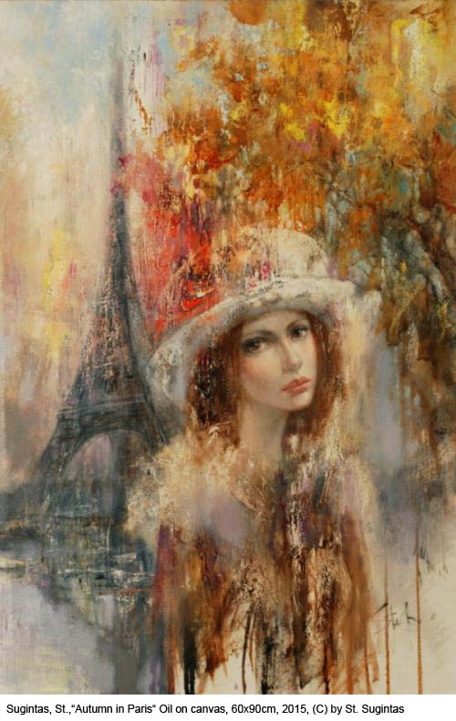 Sugintas-S.-Autumn-in-Paris-Oil-on-Canvas-60x90cm-2015