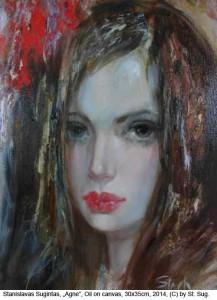 Sugintas-Stanislavas-Agne-Oil-on-Canvas-30x35cm-2014