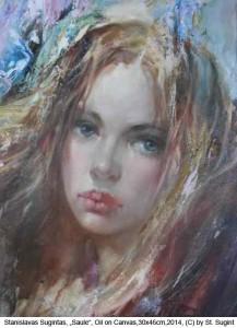 Sugintas-Stanislavas-Saule-Oil-on-Canvas-30x45cm-2014