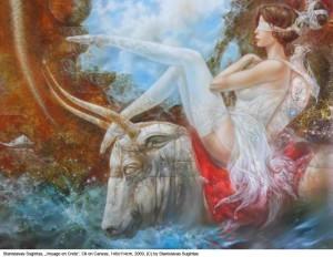 Sugintas-Stanislavas-Voyage-en-Crete-Oil-on-Canvas-146x114cm-2009