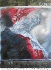 Sugintas-Stanislavas-White-Chocolate-Oil-on-Canvas-100x150cm-2013
