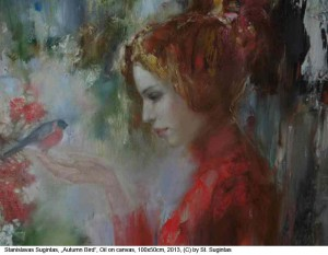 Sugintas-StanislavasAutumn-Bird-Oil-on-Canvas100x50cm-2013