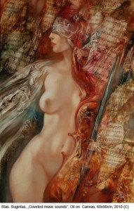 Sugintas-Stas-Coveted-music-sounds-Oil-on-Canvas-60x90cm-2010