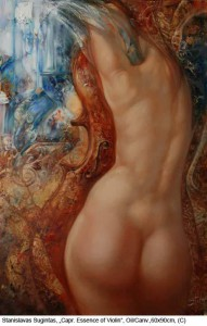 Sugintas-Stas.-Capricious-essence-of-violin-Oil-on-Canvas-60x90cm-2011
