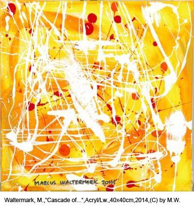 Waltermark-Marcus-Cascade-of-energetic-fields-Acryl-auf-Leinwand-40x40cm-2014