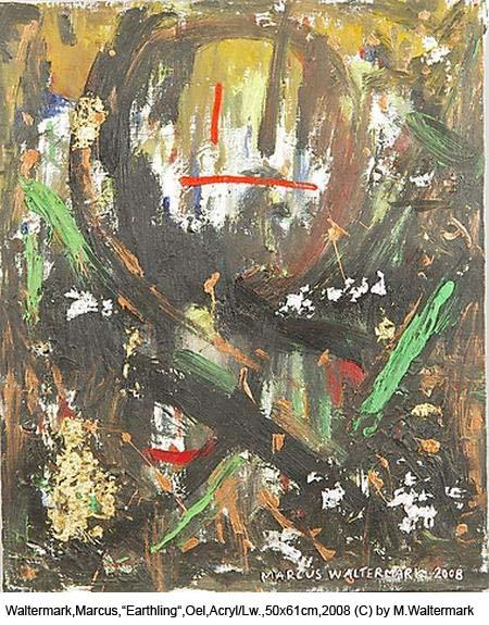 Waltermark-Marcus-Earthling-Oel-Acryl-auf-Lw.50x61cm2008