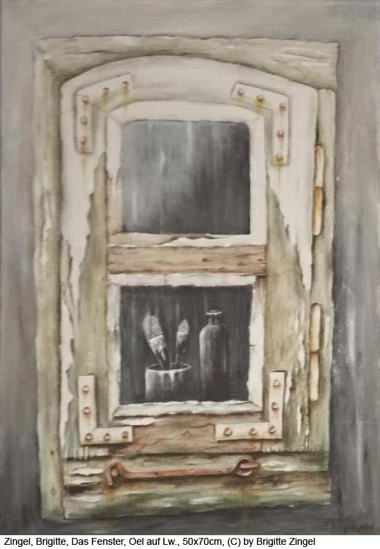 Zingel-Brigitte-Das-Fenster-Oel-auf-Leinwand-50x70cm-2016