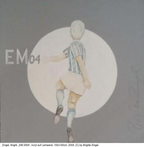 Zingel-Brigitte-EM-2004-Acryl-auf-Lw